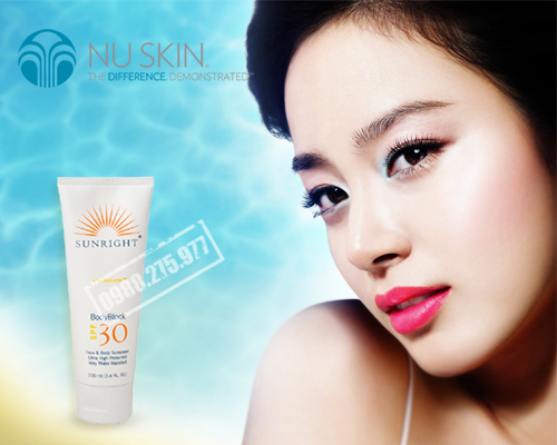 NUSKIN SUNRIGHT BODYBLOCK SPF 30 2
