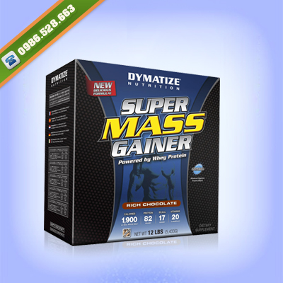 SUPER MASS GAINER 5,5KG