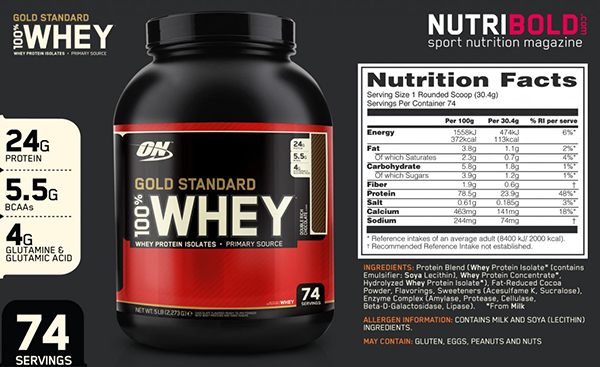 sua tang co PROTEIN 2 LBS WHEY GOLD STANDARD 3