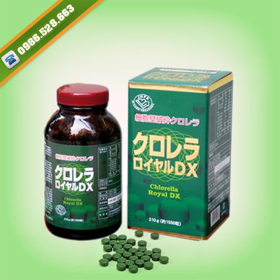 tao CHLORELLA ROYAL DX nhat ban