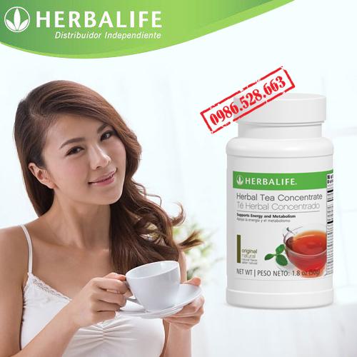 trà thảo mộc cô đặc herbalife