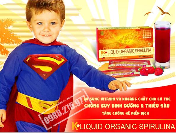 K-LIQUID ORGANIC SPIRULINA 2