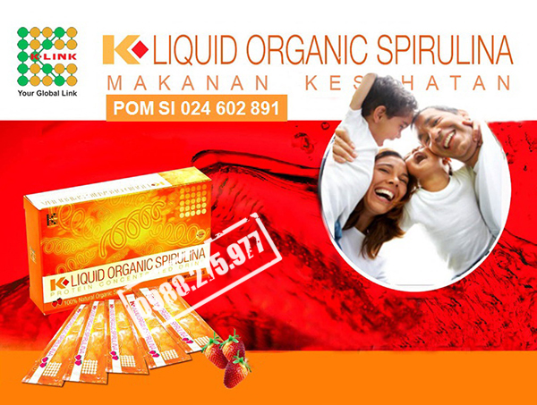 K-LIQUID ORGANIC SPIRULINA 3