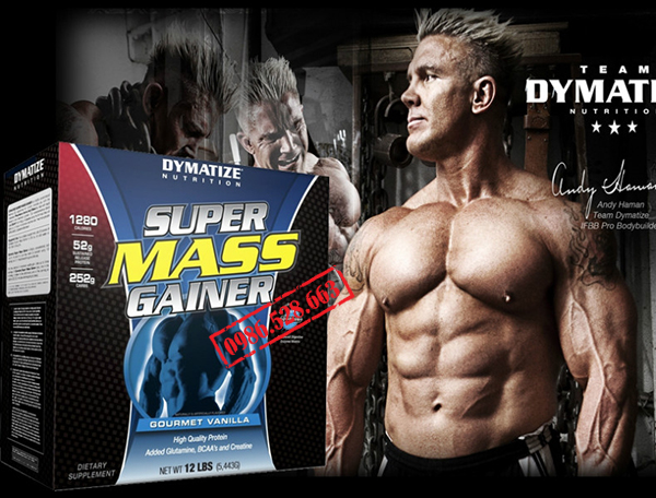 SUPER MASS GAINER 5,5KG 2