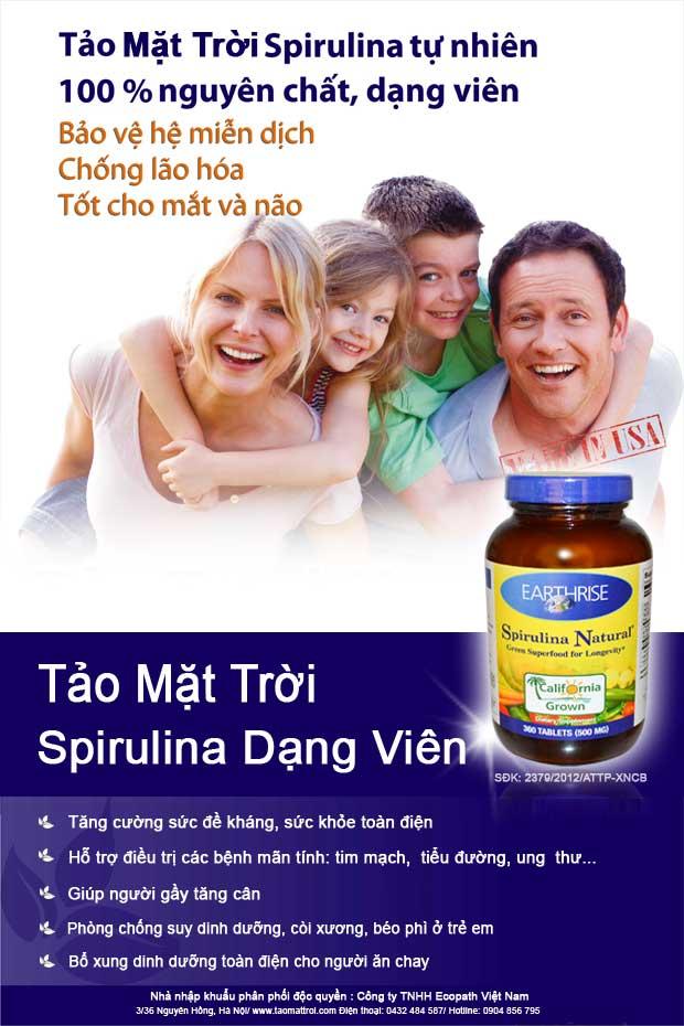 TAO MAT TROI SPIRULINA TU NHIEN 360 VIEN 3
