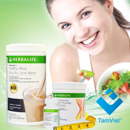 Bộ ba sản phẩm herbalife cơ bản