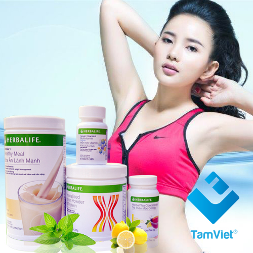 Bộ 4 sản phẩm giảm cân herbalife