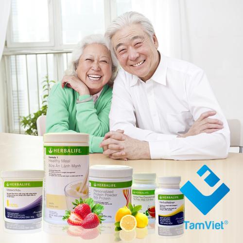 bộ sản phẩm hỗ trợ tim mạch herbalife