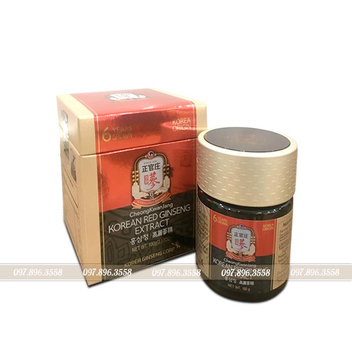 Tinh chất hồng sâm cô đặc chính phủ KGC Extract lọ 100g