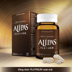 Tác dụng của Sâm alipas platinum
