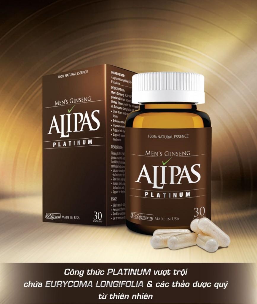 Tác dụng của Sâm Alipas