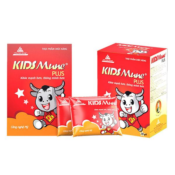 Kidsmune Plus, thực phẩm chức năng kidsmune
