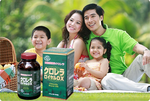 tao CHLORELLA ROYAL DX nhat ban 2