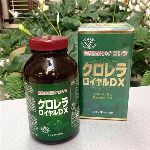 tao CHLORELLA ROYAL DX nhat ban 4