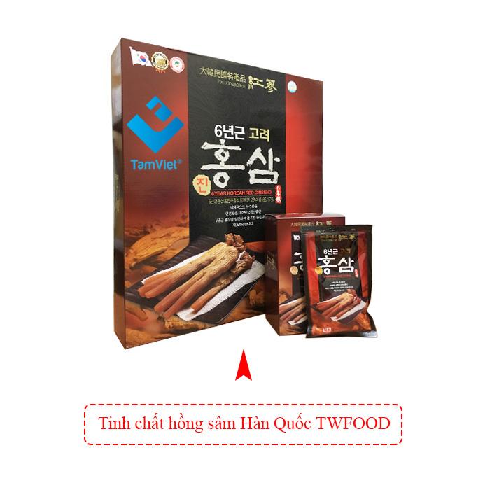 Tinh chất hồng sâm Hàn Quốc Twfood 1